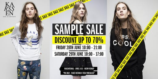 Zoe Karssen Stock & Sample Sale