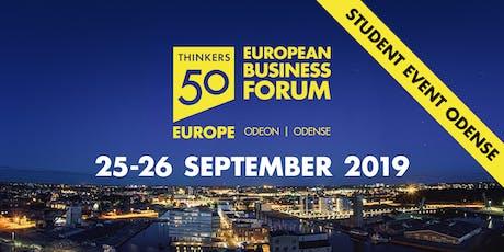 European Business Forum - Day 2-Session 4, 15.30-17- Lecture w. Osterwalder tickets