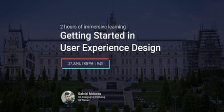 Getting Started in User Experience Design tickets