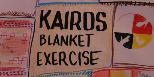 Kairos Blanket Exercise at the Local Community Food Centre