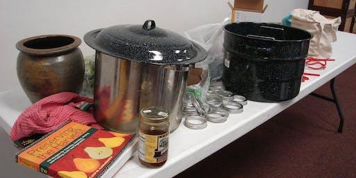 Canning & Preservation Workshop