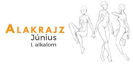 Alakrajz - Június - I. alakalom tickets