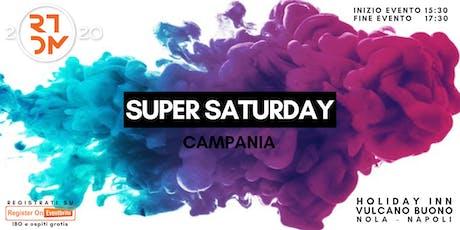 Super Saturday Giugno 2019 biglietti