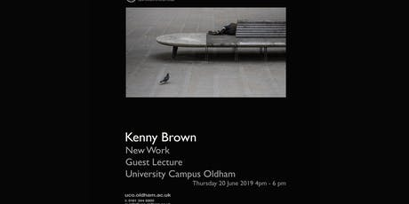 Kenny Brown Photography Lecture University Campus Oldham tickets
