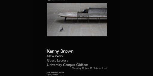 Kenny Brown Photography Lecture University Campus Oldham
