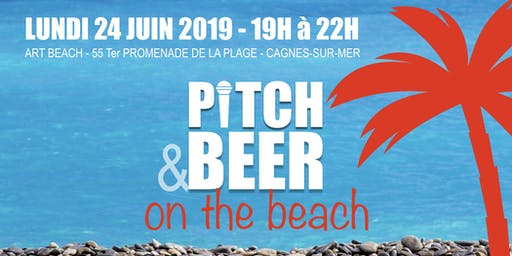 PITCH & BEER ON THE BEACH