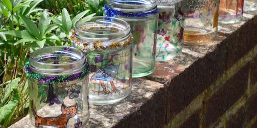 Glass and tiles: Summer family workshop
