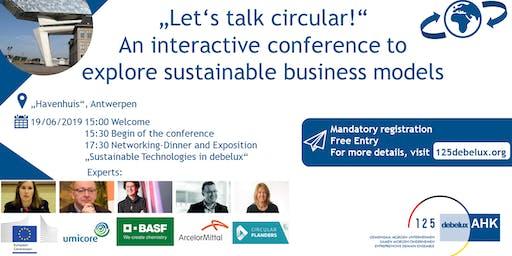 Let's talk circular!