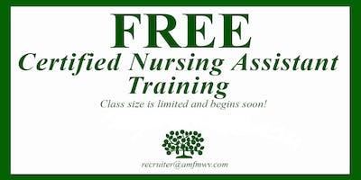 Free CNA Class Bridgeport, WV