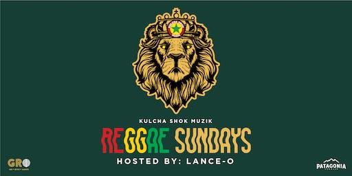 Live Reggae, Sunday 6PM