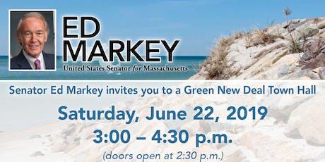 Senator Markey  Green New Deal Town Hall - Cape Cod tickets