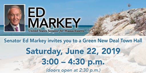 Senator Markey  Green New Deal Town Hall - Cape Cod