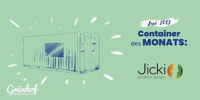 Jicki - Container des Monats - Wir sind bei Höhle der Löwen
