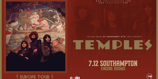 Temples (Engine Rooms, Southampton)