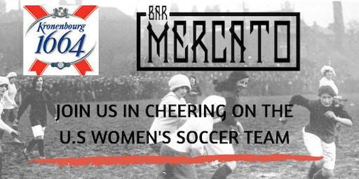 U.S Women's Soccer Game watch!
