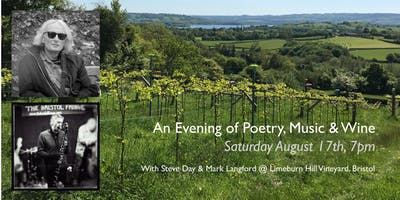 An Evening of Poetry, Music & Wine with Steve Day and Mark Langford