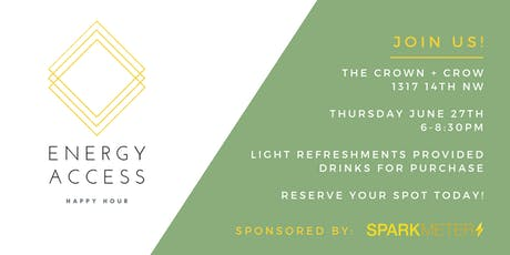 DC Energy Access Happy Hour tickets