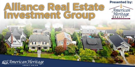 Alliance Real Estate Investment Group Seminar tickets
