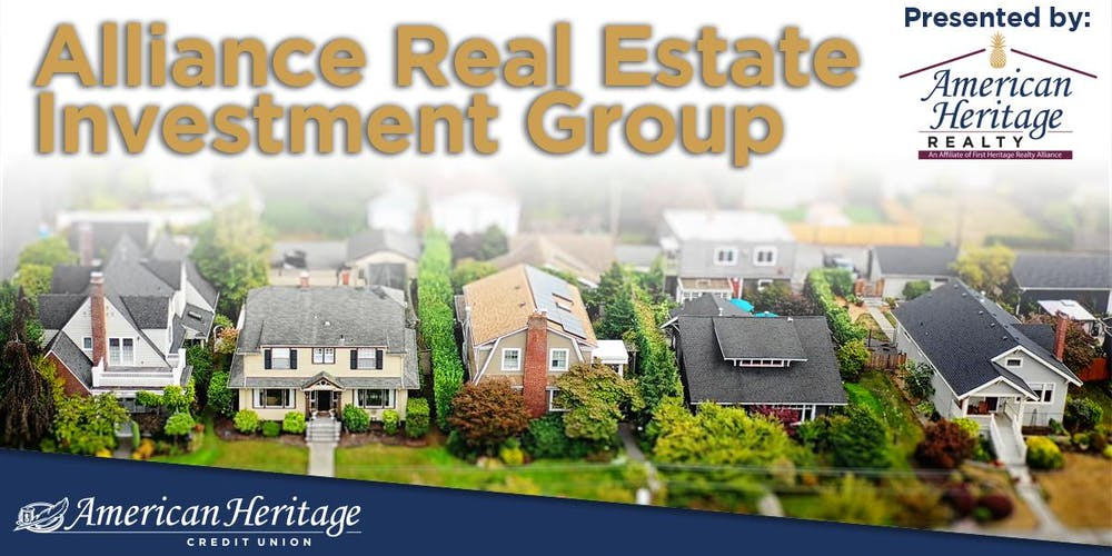 Alliance Real Estate Investment Group Seminar Tickets, Multiple