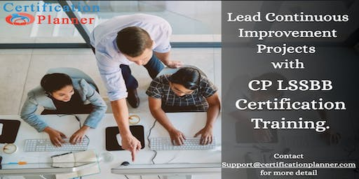 Lean Six Sigma Black Belt with CP/IASSC Exam Voucher in Montreal(2019)