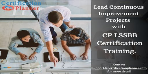 Lean Six Sigma Black Belt with CP/IASSC Exam Voucher,Colorado Springs(2019)