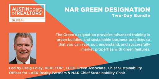 NAR GREEN Designation (Two-Day Bundle)