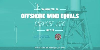 Offshore Wind = Onshore Jobs