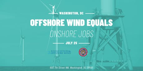 Offshore Wind = Onshore Jobs tickets