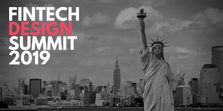 FINTECH DESIGN SUMMIT - NEW YORK  tickets
