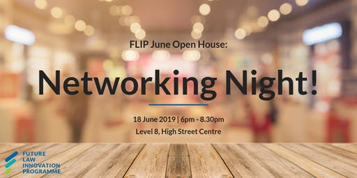 FLIP Open House - June Networking Night