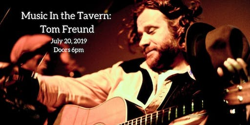 Music In the Tavern: Tom Freund