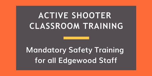 Active Shooter Classroom Training