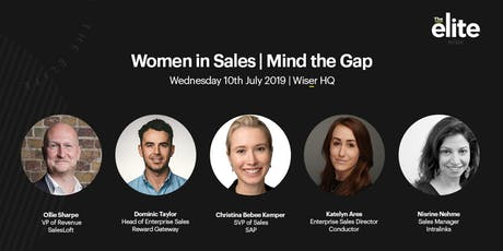 Women in Sales | Mind the Gap tickets