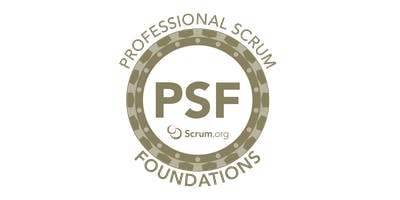 Professional Scrum Foundations - SP Agosto