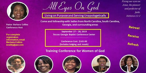 """All Eyes on God:Living on Purpose and Serving Apologetically"""