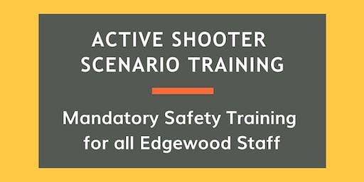 Active Shooter Scenario Training