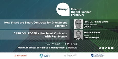 Why Smart Contracts are Instrumental to Evolving Financial Industries Tickets
