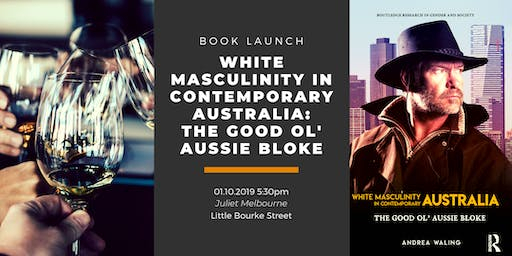 Book Launch:  The Good Ol' Aussie Bloke
