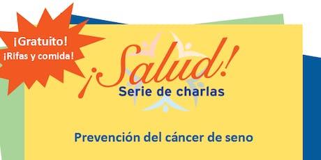 ¡Salud! Serie de Charlas- Prevención del Cáncer de Seno (St. Petersburg) tickets