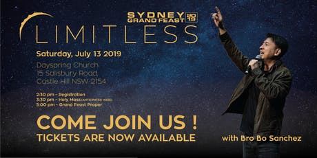 Limitless | Sydney Grand Feast 2019 tickets