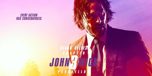 Movie: John Wick: Chapter 3 - Parabellum at Studio Movie Grill in Chicago