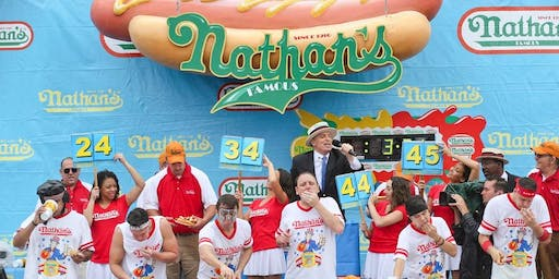 July 4th Hot Dog Eating Contest
