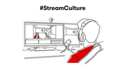Conférence #StreamCulture billets