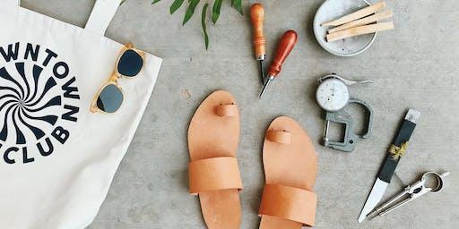 Handmade Leather Sandals by Wilkie Sucher
