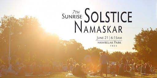 7th Sunrise Solstice Namaskar