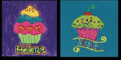 "Paint Night for Kids: ""Cupcake Party"""