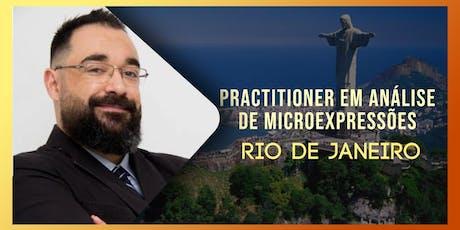 Practitioner em Análise de Micro Expressões com Anderson Tamborim - Rio de Janeiro ingressos