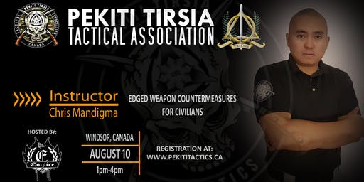 Edged Weapons Countermeasures - Open Registration