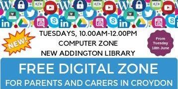 Free Digital Skills drop in Sessions at New Addington Library, Croydon