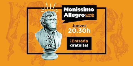 Monissimo Allegro Open Mic entradas
